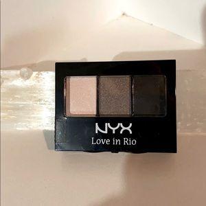 NYX Love in Rio shadow trio